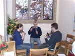 Change ringing on handbells, Young Persons' Christmas Event 2005