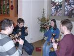 Change ringing on handbells, Young Persons' Christmas Event 2007